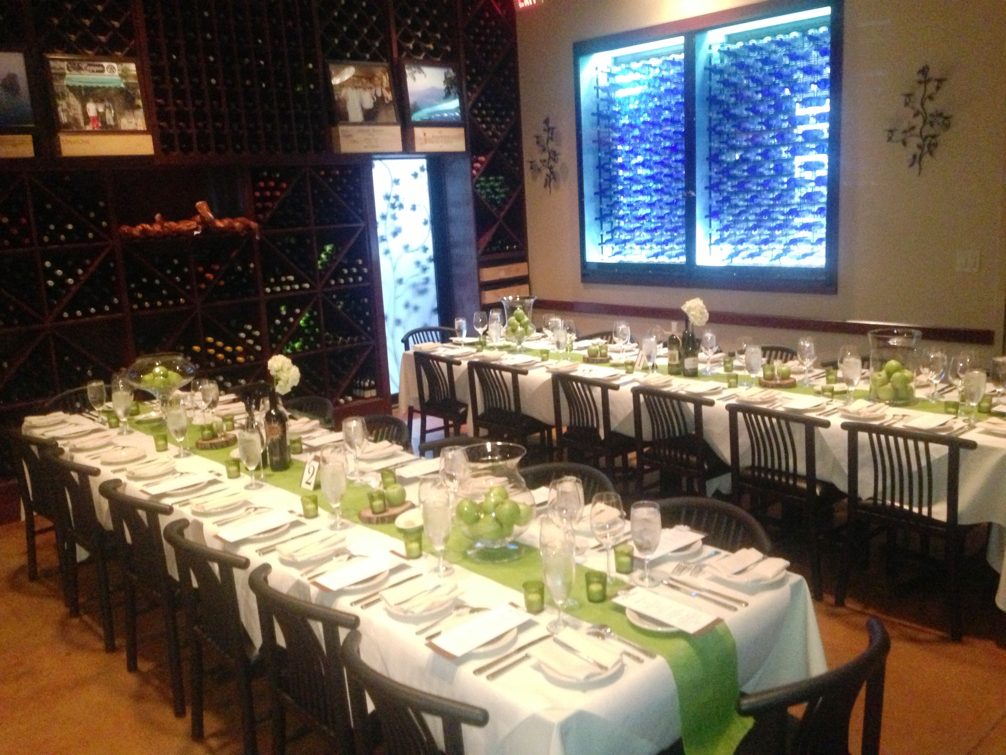 Enoteca Private Dining Room